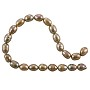 "Freshwater Rice Pearl Light Copper 6-7mm (16"" Strand)"