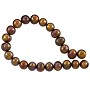 "Freshwater Potato Pearl Antique Bronze Mix 8-9mm (16"" Strand)"