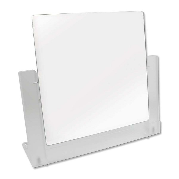 Pivoting Counter Top Mirror - Frost Trim