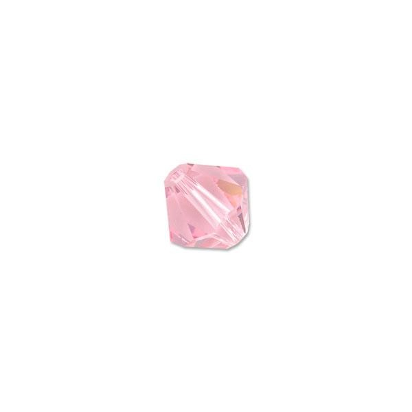 Swarovski Crystal Bicone Beads 5301 5mm Light Rose (10-Pcs)