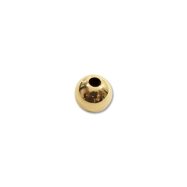 5mm 14k Yellow Gold Round Bead (1-Pc)