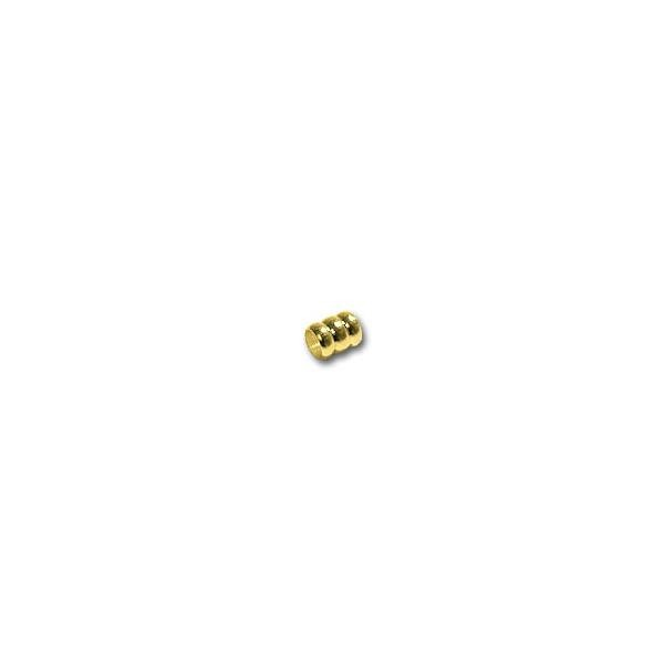 Triple Ring 4.5x4mm Gold Plated (10-Pcs)
