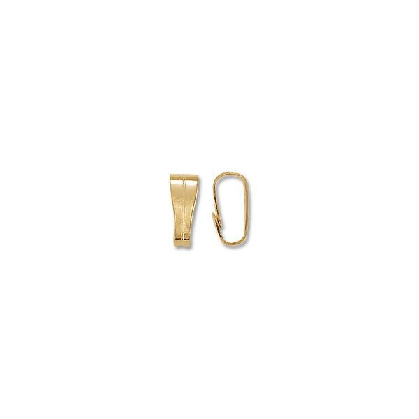 Bail - Snap On 2.5x6.5mm Gold Plated (10-Pcs)