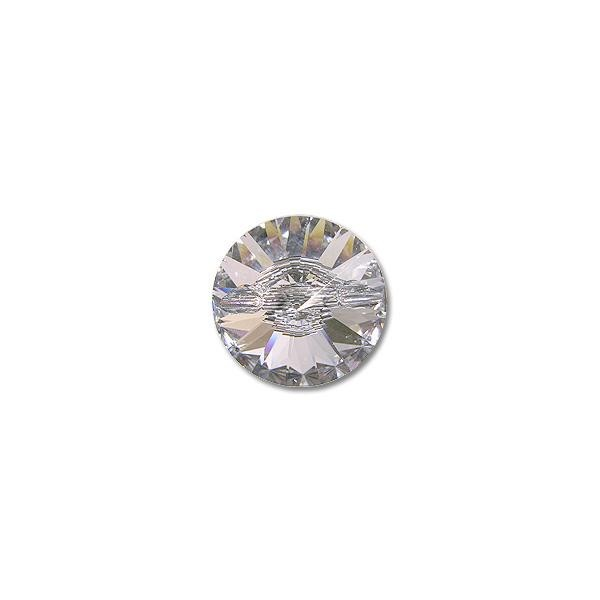 Swarovski crystal button 3015 14mm crystal with foil back - Swarovski crystal buttons ...