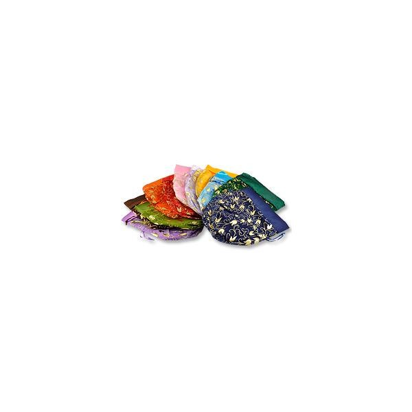 Organza Cinch Pouches Assorted Large (12-Pcs)