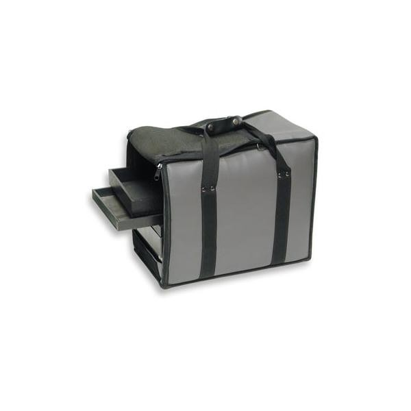 "Carrying Case (Holds 12-1"" Trays) Grey"