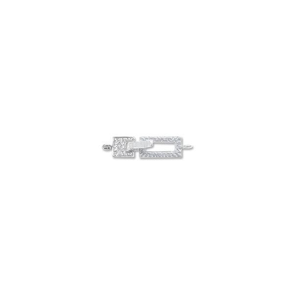 Locking Clasp 37x9mm Sterling Silver (Set)