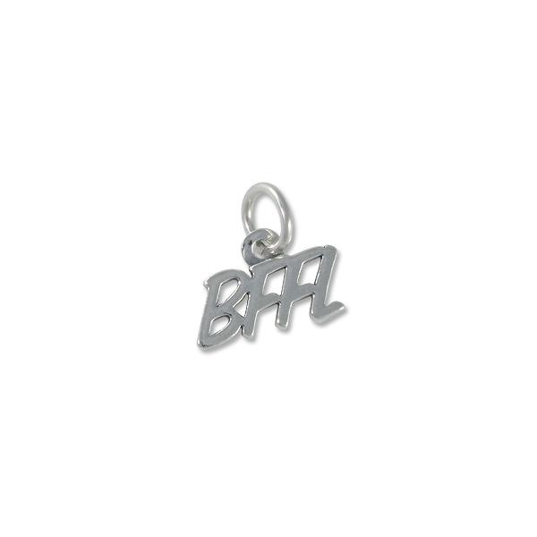 BFFL Charm (Best Friends For Life) 7x13mm Sterling Silver