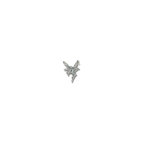 Fairy Charm - 32x21mm Sterling Silver (1-Pc)