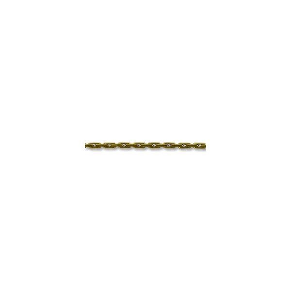 Beading Chain .7mm Antique Brass Plated (Priced per Foot)