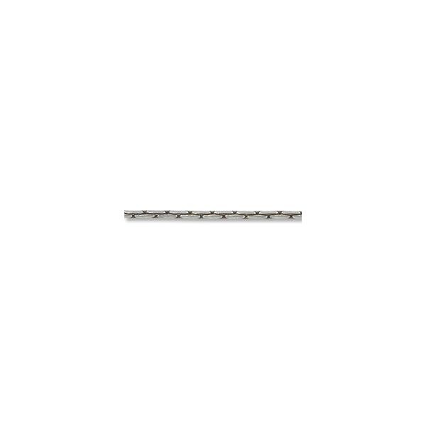 Beading Chain 1 mm Antique Silver Plated (Priced per Foot)