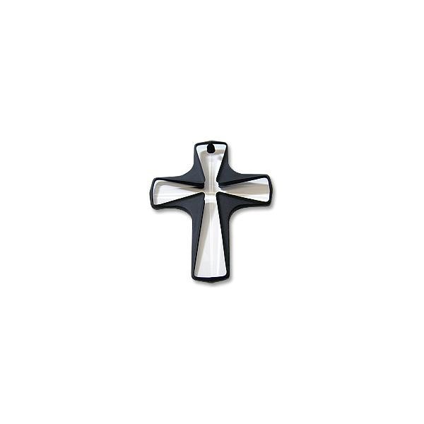 Swarovski Crystal Cross Pendant 6860 38x29mm Cosmojet (1-Pc)