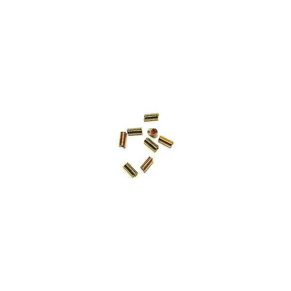 Coil Spacer Beads 10mm Gold Color (10-Pcs)
