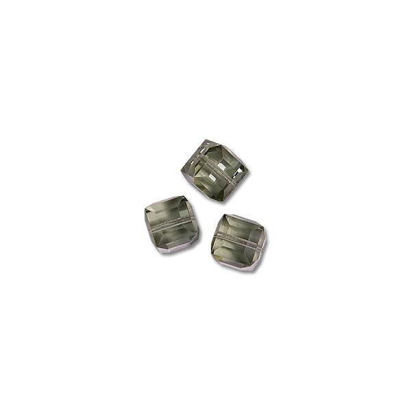 Swarovski Cube Beads 5601 4mm Black Diamond (1-Pc)