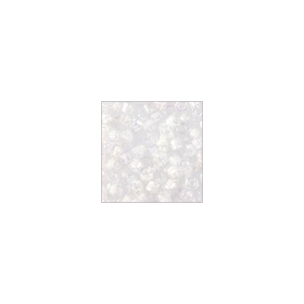 Miyuki Delica Seed Bead 11/0 Color Lined White (3 Gram Tube)