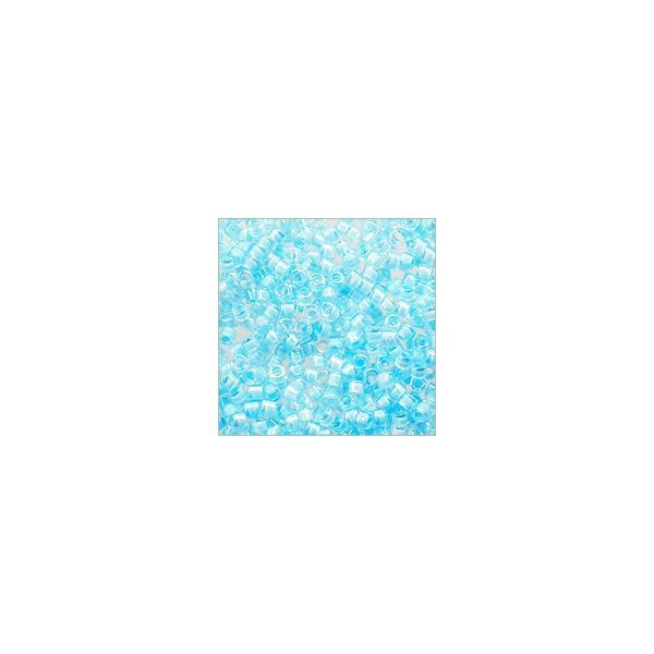 Miyuki Delica Seed Bead 11/0 Color Lined Powder Blue (3 Gram Tube)