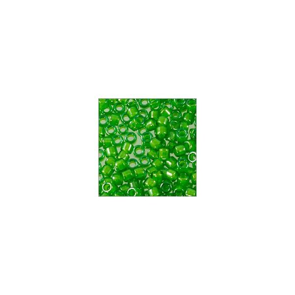 Miyuki Delica Seed Bead 11/0 Color Lined Leaf Green (3 Gram Tube)