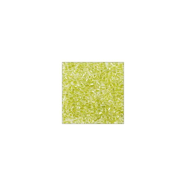 Miyuki Delica Seed Bead 11/0 Color Lined Pale Green (3 Gram Tube)