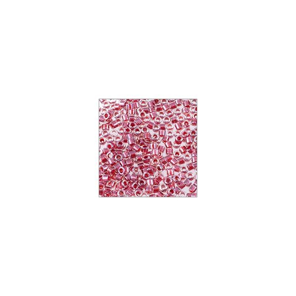 Miyuki Delica Seed Bead 11/0 Color Lined Raspberry (3 Gram Tube)