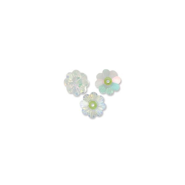 Swarovski Margarita Beads 3700 10mm Crystal Transmission (3-Pcs)