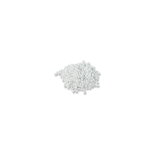 Czech Seed Bead 8/0 Opaque White (10 Grams)