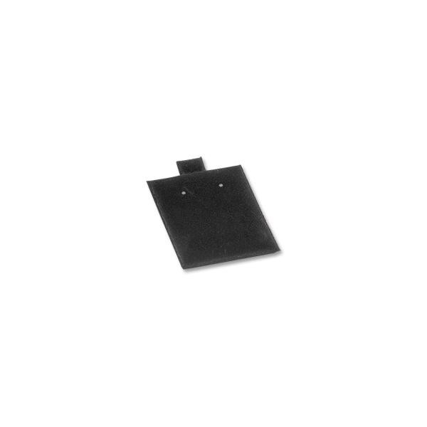 "Earring Puff Pads - Black 1.5"" x 1.75"" (100-Pcs)"