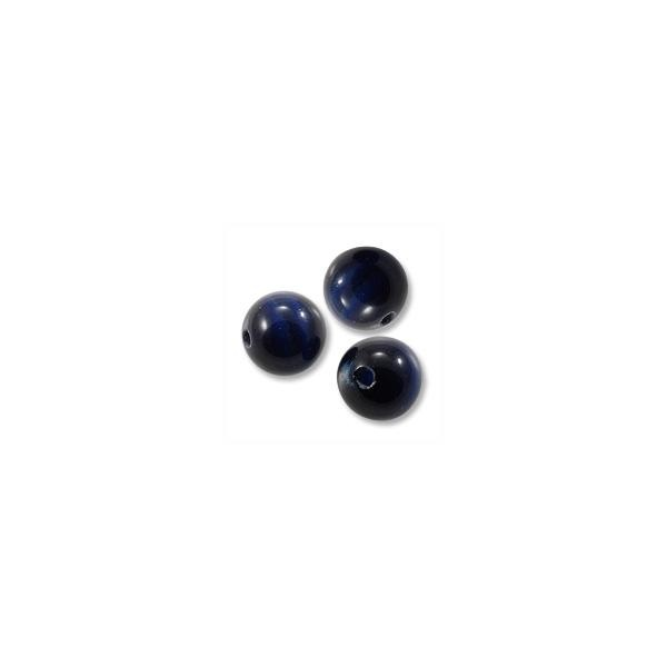 Cat's Eye Beads Midnight Blue 6mm (20-Pcs)