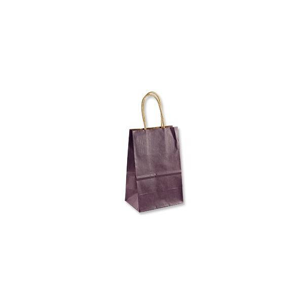 Gift Bag - Kraft Shopper Plum