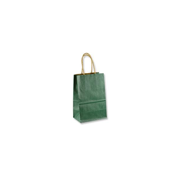 Gift Bag - Kraft Shopper Hunter Green