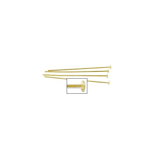 Head Pin 2 Inch 24ga Gold Filled (1-Pc)