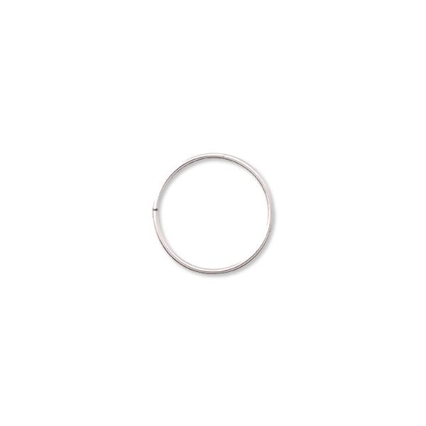 12mm Sterling Silver Round Open Jump Ring (2-Pcs)