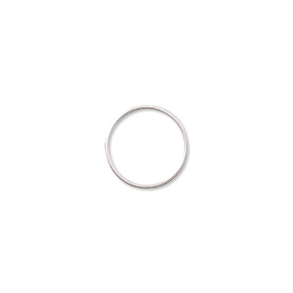 10mm Sterling Silver Round Closed Jump Ring (1-Pc)