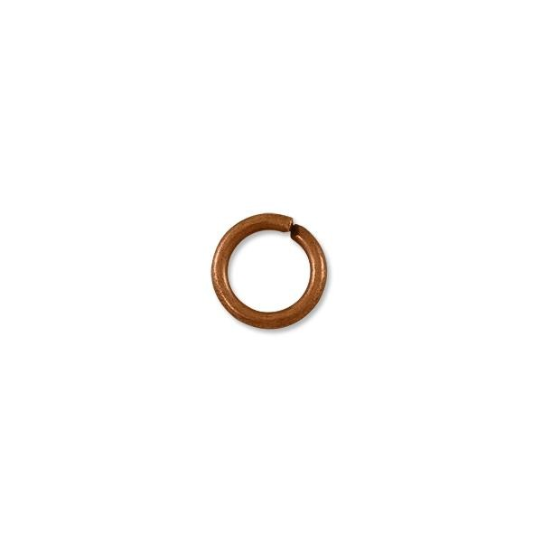 Jump Ring - Open 12mm Antique Copper Plated (10-Pcs)