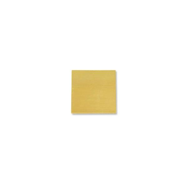 "Brass Square 24 Gauge Blank 3/4"" x 3/4"""