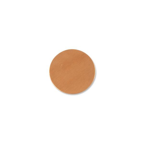 Copper Round Blank 18 gauge 1""