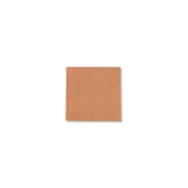 "Copper Square 18 Gauge Blank 1"" x 1"""