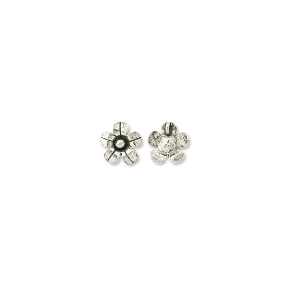 Designer Sterling Silver Flower 14mm