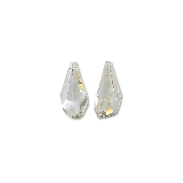 ba52e61ea86ce Swarovski Polygon Drop Pendant 6015 50mm Crystal Silver Shade (1-Pc)