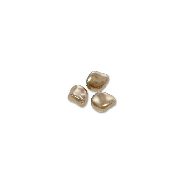 Swarovski 5826 9mm Bronze Curved Crystal Pearl (1-Pc)