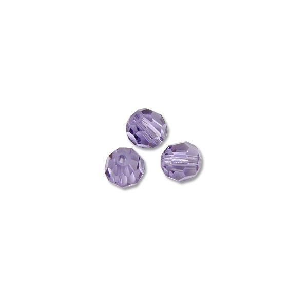 Swarovski Round Crystal Bead 5000 4mm Tanzanite (6-Pcs)