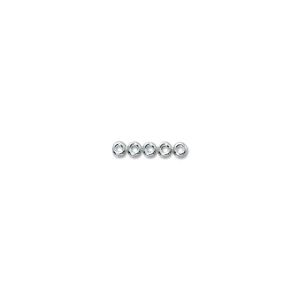 Sterling Silver Rondell Dividers 5 Hole (1-Pc)