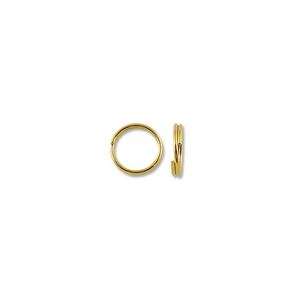 5mm Gold Plated Split Ring (1000-Pcs)