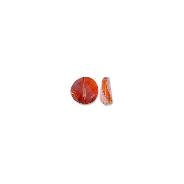 Swarovski Twist Bead 5621 14mm Crystal Red Magma (1-Pc)