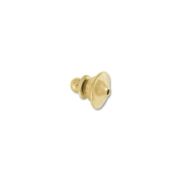 Tie Tack Clutch 10mm Gold Plated (1-Pc)