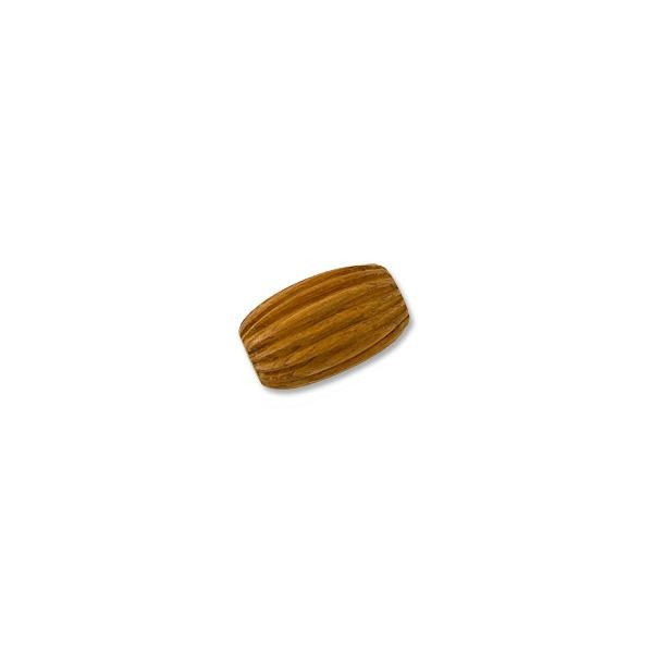 Bayong Wood Fireball Bead 30x20mm (1-Pc)