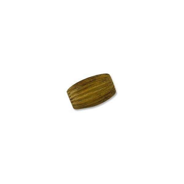 Robles Wood Fireball Bead 30x20mm (1-Pc)