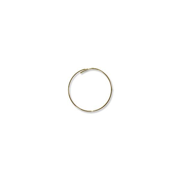 "Gold Filled Beading Hoops 1¼"" (1-Pc)"