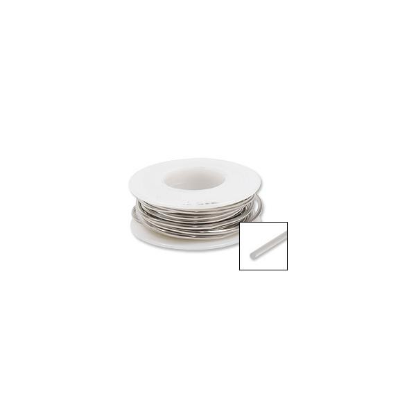Nickel Silver Wire 24ga Round (20-Ft)