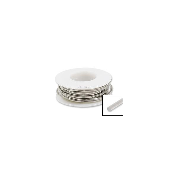 Nickel Silver Wire Round 18ga (10-Ft)