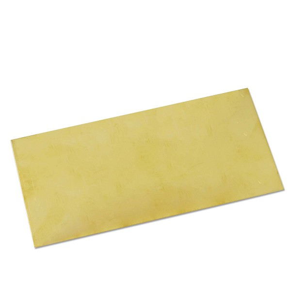 "Red Brass Sheet 20g 6""x3"""
